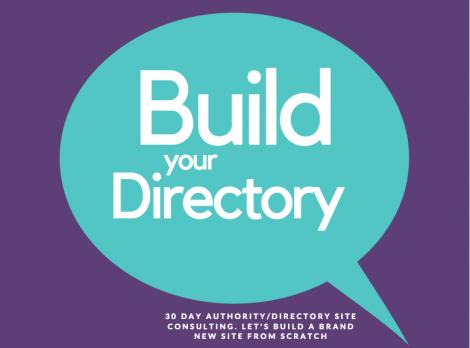 build a web directory